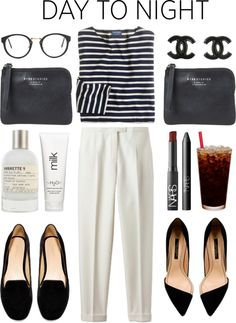 """""""navy stripes"""" by rosiee22 on Polyvore"""