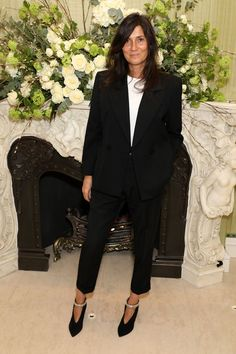 What to wear when you don't do dresses...Emmanuelle Alt