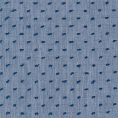 Skirt for p.Robert Kaufman House Designer - Cotton Chambray Swiss Dots - Chambray Swiss Dots in Denim Chambray Fabric, Denim Cotton, Making Shirts, Robert Kaufman, Swiss Dot, Sewing Patterns Free, Free Sewing, Top Pattern, Decoration