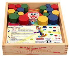 Palhaço Equilibrista - Brinquedice Brinquedos Educativos