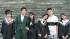 BFFs graduating in Love Cute Love Stories, Love Story, Yang Yang Zheng Shuang, Love 020, Wei Wei, Yang Wei, Taiwan Drama, Chines Drama, Chinese Fans