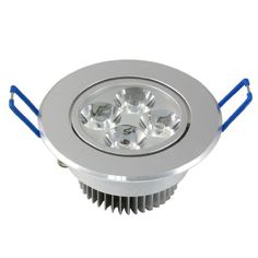 9W LED Panel Light Flat Lamp Round Ultra-Thin Recessed Ceiling Light Downlight Fixture Kit Warm White 3000K 60W Incandescent Equivalent with LED Driver by JerryLamp
