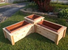 Corner Planter Box from KregJig.ning.com Put in corner of porch: