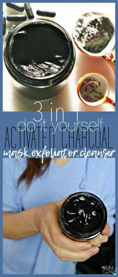 Activated Charcoal Mask Exfoliant and Cleanser #CucumberFaceMask Activated Charcoal Mask, Charcoal Mask Benefits, Charcoal Mask Peel, Homemade Charcoal Mask, Homemade Face Masks, Homemade Skin Care, Diy Face Mask, Homemade Blush, Best Peel Off Mask