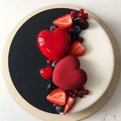 Beautiful Birthday Cakes, Beautiful Cakes, Amazing Cakes, Valentine Cake, Mousse Cake, Cake Decorating Techniques, Pretty Cakes, Creative Cakes, Cake Art