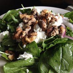 Spinach And Arugula Salad @CarolinaBrewery & Grill