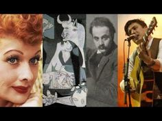David Carus Show Lucille Ball, Pablo Picasso, Kahlil Gibran and Mumford & Sons Guernica, Kahlil Gibran, Mumford, Lucille Ball, Episode 3, Pablo Picasso, David, The Incredibles, Fictional Characters