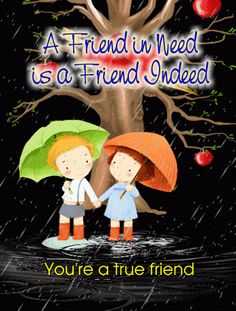 #Whatsapp a cute compliment to your #truefriends with this #friendship #quote #ecard.