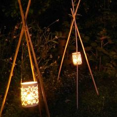 Comment créez une torche de jardin sans danger ? | Décor de fête