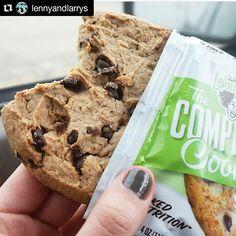 #Repost @lennyandlarrys  Thumbs up to Coconut Chocolate Chip!   #proteincookie #beoriginal #bestcookiesever #reversediet #bodybuilding #vitaminshoppe #completecookie #foodporn #whatveganseat #vegancookies #plantbased #cookieporn #postworkout #protein #TeamLL #lennyandlarrys #chocolate #coconut by heatherinw0nderland