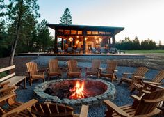 The Resort at Paws Up is luxury camping at its finest. The resort is spread out into mini-camps that you can easily take over with your own crew for a couple of nights or weeks at a time. | Photo Credit: The Resort at Paws Up