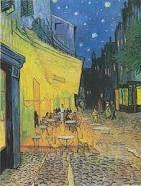 "Vincent Van Gogh ""Cafe Terrace at Night"" 1888 Ashcan"