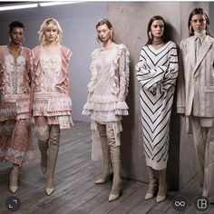 A beautiful collection @zimmermann #FW17 #nyfw   via MARIE CLAIRE AUSTRALIA MAGAZINE OFFICIAL INSTAGRAM - Celebrity  Fashion  Haute Couture  Advertising  Culture  Beauty  Editorial Photography  Magazine Covers  Supermodels  Runway Models
