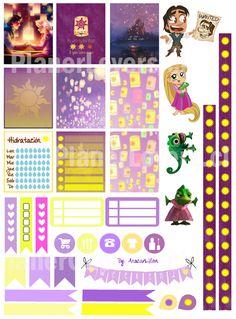 Bienvenidas a la primera publicación! :D Los stickers de Rapunzel fueron los primeros :) Se darán cuenta que amo Disney y pese a que más adelante haré stickers de otras temáticas, por ahora verán u…