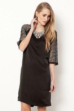 Selected Femme Crochet Blossom Dress #anthropologie