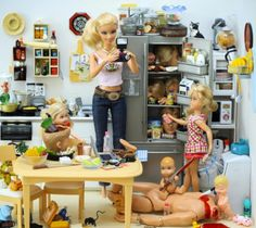 i must have missed the Murdering Psychopath Mommy edition Barbie...