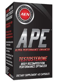 Athletic Edge Nutrition APE is one of the best supplements when it comes to effective testosterone boosting. This supplement is, in fact, something more than just a testosterone booster.