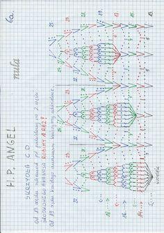 Opis 6 Crochet Angels, Bullet Journal, Album, Knitting, Crochet Christmas, Shiva, Doilies, Charts, Snowflakes