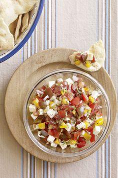Chunky Tomato Salsa  - CountryLiving.com