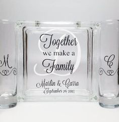Blended Family Sand Ceremony Set Unity Candle Alternative Together We Make A Beach Wedding Decor Theme