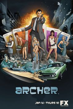 So it's not a film either... whatever!    Archer!