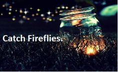 Catch Fireflies.
