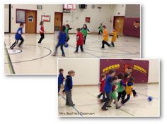 Fun new games to get the kids active in the cold weather at Mrs. Beattie's Classroom!