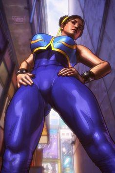 Street Fighter | Chun-Li •system bleed