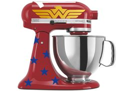 Wonder Woman Inspired Mixer Decals for your Kitchenaid Stand Mixer