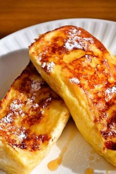 Without fail. The world of French toast - Microwave help bread soak egg faster Cooking Bread, Cooking Recipes, Sweets Recipes, Desserts, Homemade Sweets, Yummy Food, Tasty, Popular Recipes, Love Food