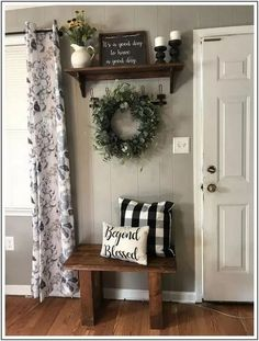 living room decor 44 top farmhouse living room makeover decor ideas 4 be harmful to Living Room Colors, Living Room Designs, Living Room Decor Ideas Apartment, Bench In Living Room, How To Decorate Living Room Walls, Living Room Wall Decor Diy, Decorating Ideas For The Home Living Room, Living Room Decorations, Loving Room Decor