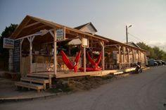 Pura Vida Beach Hostel - Hostel in Vama Veche, Romania - online . Hostel, Romania, Cabin, Bar, House Styles, Summer, Pura Vida, Summer Time, Cabins