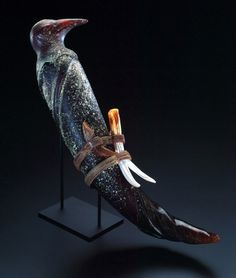 William Morris.  Artifact: Bundle, 1995.  Handblown glass.