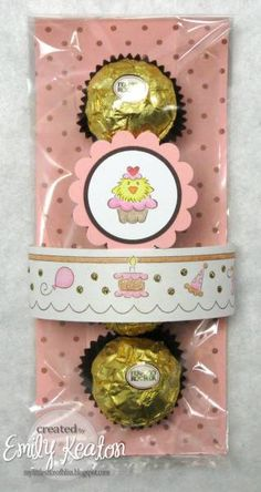 Birthday Party Favor/Treat Packaging by ejkeaton - Cards and Paper Crafts at Splitcoaststampers