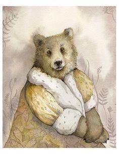 Bear Art - The Monarch -  Amber Alexander