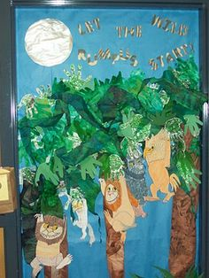 Where the wild things are door decoration. read across america week.