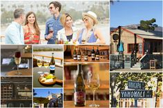 Funk Zone Uncorked Tour Package.  App-based, self-guided tour with all wine included.