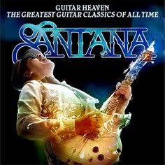 Santana Album Covers | ... Album & Single Cover's: Santana - Guitar Heaven (Official Album Cover