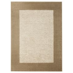 Not sure if this is the one i saw...Threshold™ Border Accent Rug - Tan (2'x3')