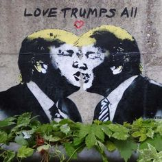 Donald Trump is destined to leave his mark on the world stage but the world's graffiti artists have been leaving Trump-related marks for some time.