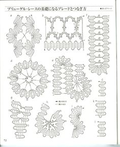 Crochet Lace book 3 - Irene Persson - Picasa Web Albums crochet bruges