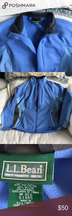 LL Bean Woman's Jacket. Beautiful jacket, barely worn with lots of pockets. Nice and warm. Zips all the way up! LL Bean Jackets & Coats
