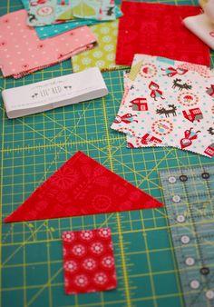 Pat Sloan: Villages Sew Along - Sort & Cut House Quilt Patterns, House Quilt Block, Beginner Quilt Patterns, House Quilts, Quilt Block Patterns, Quilt Blocks, Missouri Quilt Tutorials, Quilting Tutorials, Quilting Projects