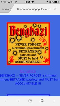 Justice needs to be done, people need to be tried snd imprisoned... Hillary, Barack, etc.