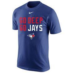 Toronto Blue Jays Nike Go Deep Playoff Hunt T-Shirt - Royal - $26.99