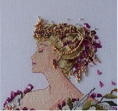 Summer Queen by Mirabilia www.mirabilia.com  Going to have to dig this one out and work on it now!