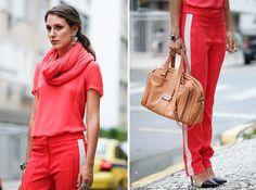 Street Style: look monocromático