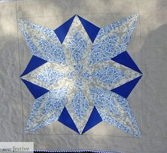 Sew Festive Handmade: Christmas in July - Snowflake Table Runner/Wall Hanging