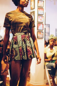 African Fashion Week Chicago  Photo: Lola Adekunle