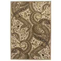 @Overstock - Easton Collection Paisley Area Rug - Showcasing both exquisite styling and quality craftsmanship, the Easton Collection pairs both traditional and transitional beautifully detailed designs with worry free, heat-set polypropylene yarn construction.  http://www.overstock.com/Home-Garden/Easton-Collection-Paisley-Area-Rug/8757074/product.html?CID=214117 $69.96